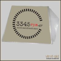 Vinyl Records Οuter Sleeves with flap for LP_