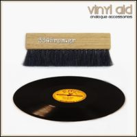 Wood Vinyl Record Cleaning Brush Vinyl Aid