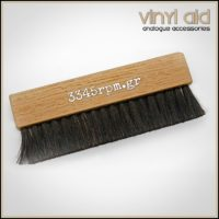 Wood Vinyl Record Cleaning Brush- Vinyl Aid