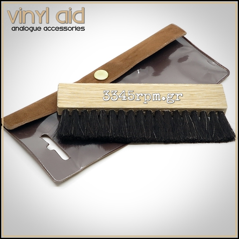 Wood Vinyl Record Cleaning Brush - Vinyl Aid