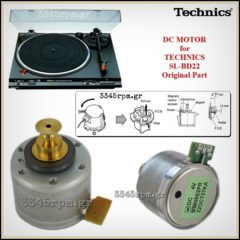 Technics SL-BD22 Turntable Motor - Original Part