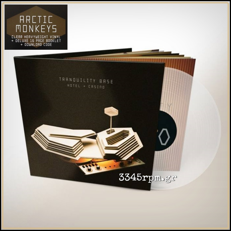 Arctic Monkeys - Tranquility Base Hotel + Casino - Clear Vinyl LP 180gr