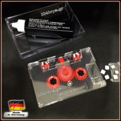 Audio Cassette Head Cleaner Tape - High Quality Wet System Kit