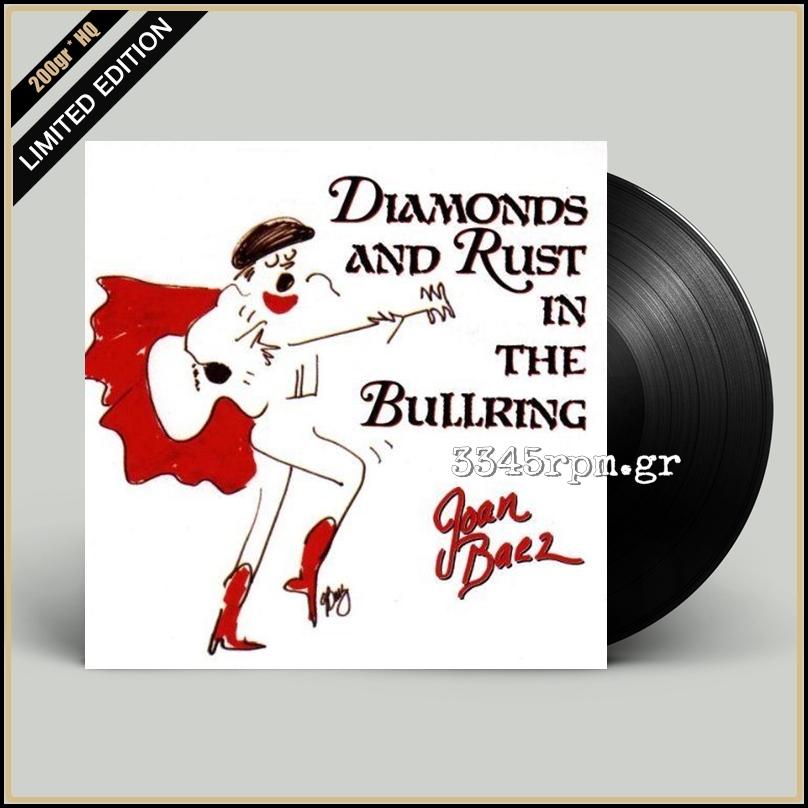 Baez, Joan - Diamonds And Rust In The Bullring - Vinyl LP 200gr