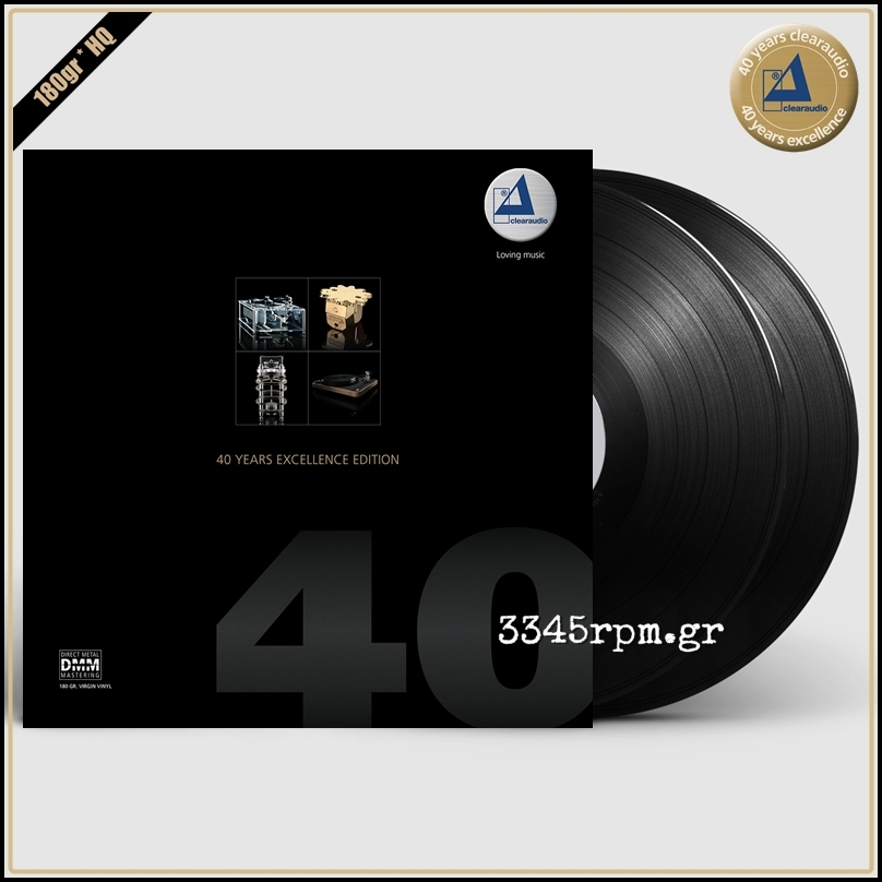 Clearaudio 40 Years Excellence Edition - Vinyl 2LP 180gr DMM