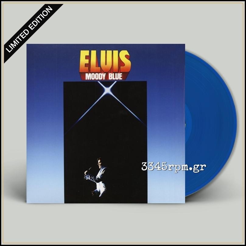 Elvis Presley - Moody Blue - Vinyl LP Colored