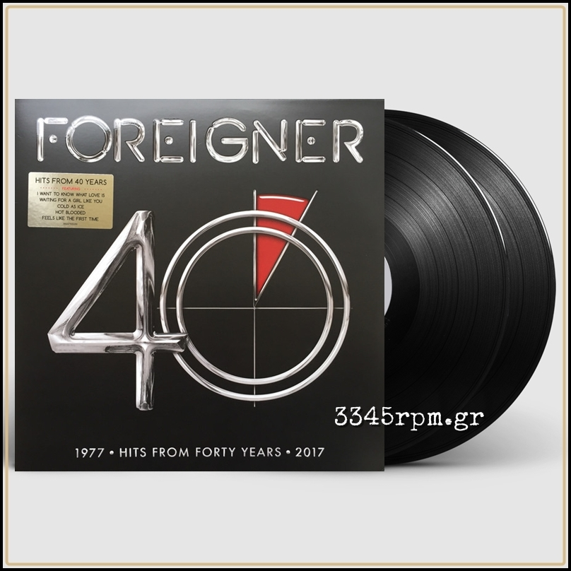 Foreigner - 40 - Vinyl 2LP