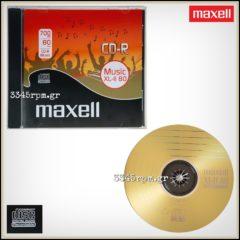 Music CD-R Maxell XL-II 80 Digital Audio Recordable