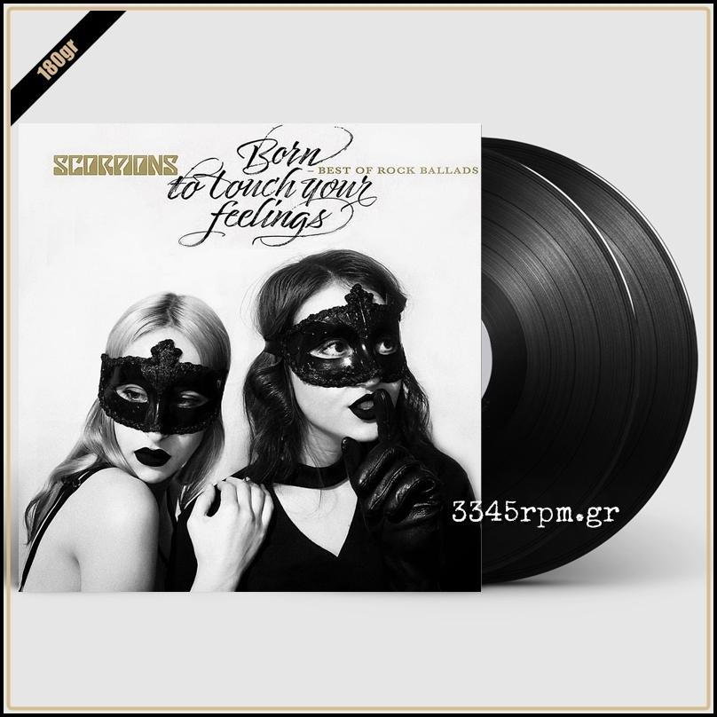 Scorpions - Born To Touch Your Feelings - Best Of Rock Ballads - Vinyl 2LP 180gr