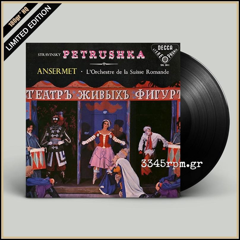Stravinsky, Igor - Petrushka - Vinyl LP 180gr HQ