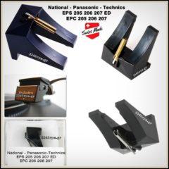 Technics EPS205 - 206 - 207 Diamond Stylus