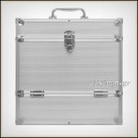 Vinyl Record Storage Case Protective Flight Case for 40 LP
