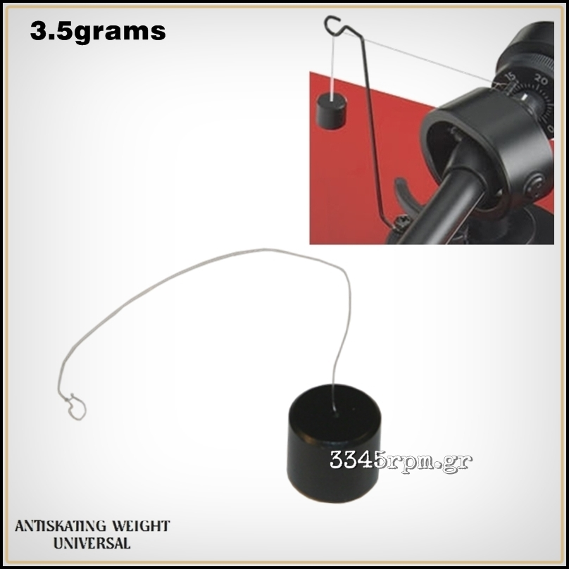Anti-skating Weight for Turntable Tonearm 3.5grams