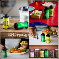 Camera Film Roll_Salt n Pepper Shakers Set 2