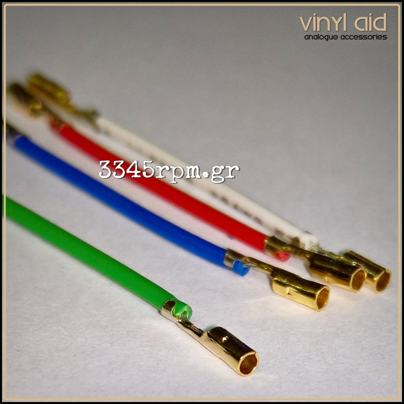 Headshell Leads wire Gold Plated