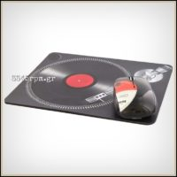 Wireless mouse and Mouse pad Vinyl design-