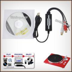 Analog to Digital Audio Converter USB-