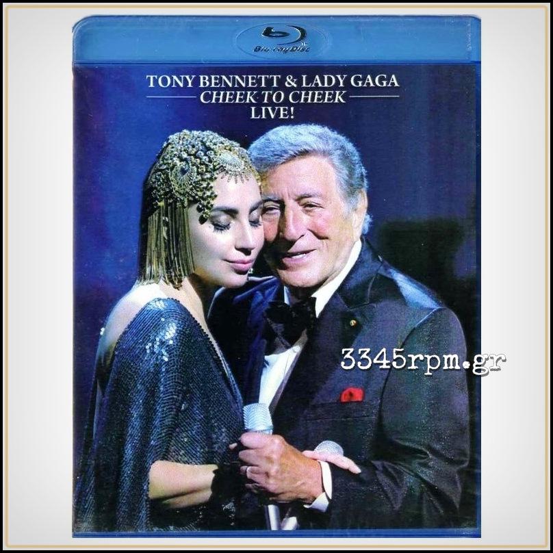 Bennett, Tony & Gaga, Lady - Cheek To Cheek Live - DVD Blu-Ray