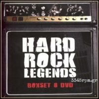 Hard Rock Legends -8DVD Deluxe Box Set