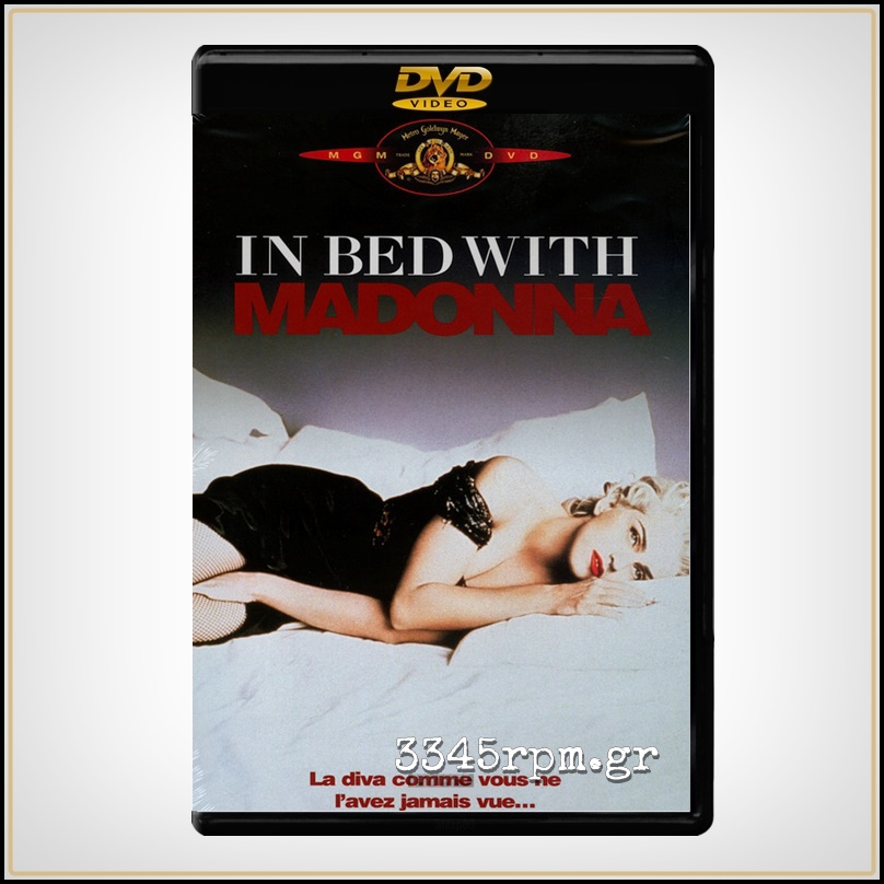 Madonna ‎- In Bed With Madonna - DVD