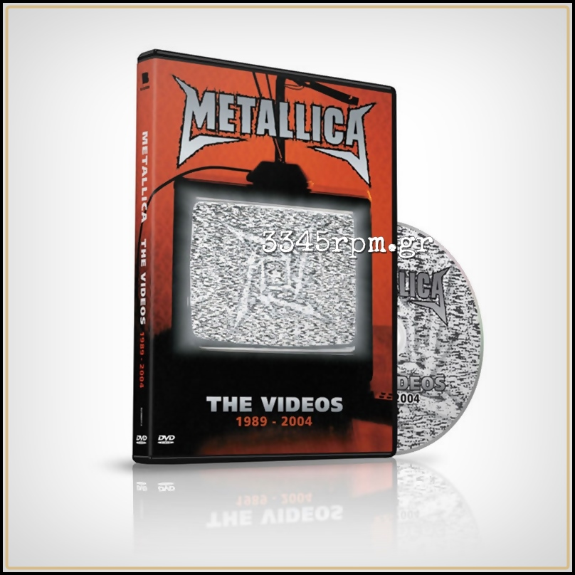 Metallica ‎- The Videos 1989-2004 - DVD