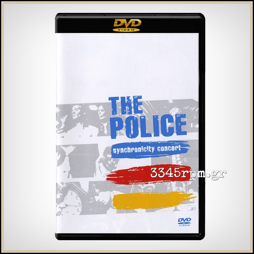 Police ‎- Synchronicity Concert - DVD
