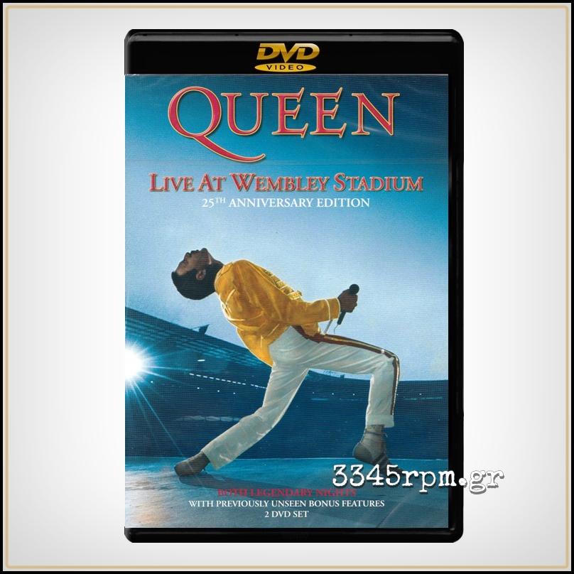 Queen - Live At Wembley Stadium - 2 DVD