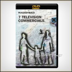 Radiohead ‎- 7 Television Commercials - DVD