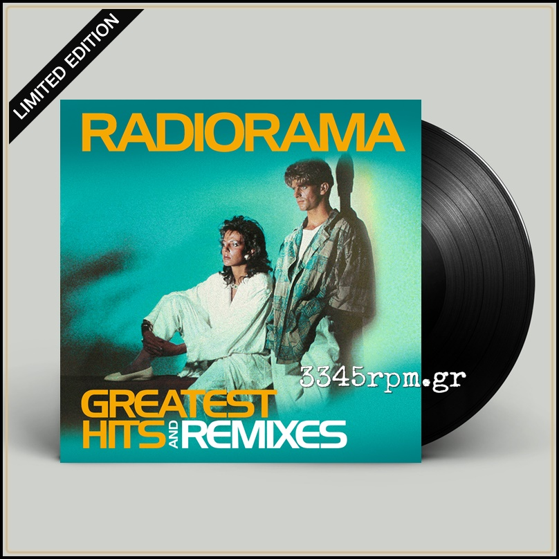 Radiorama ‎- Greatest Hits & Remixes Vinyl LP