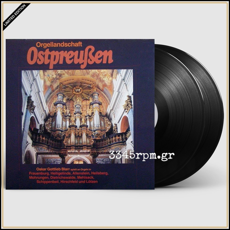 Blarr, Oskar Gottlieb - Organ Landscape East Prussia - Vinyl 2LP