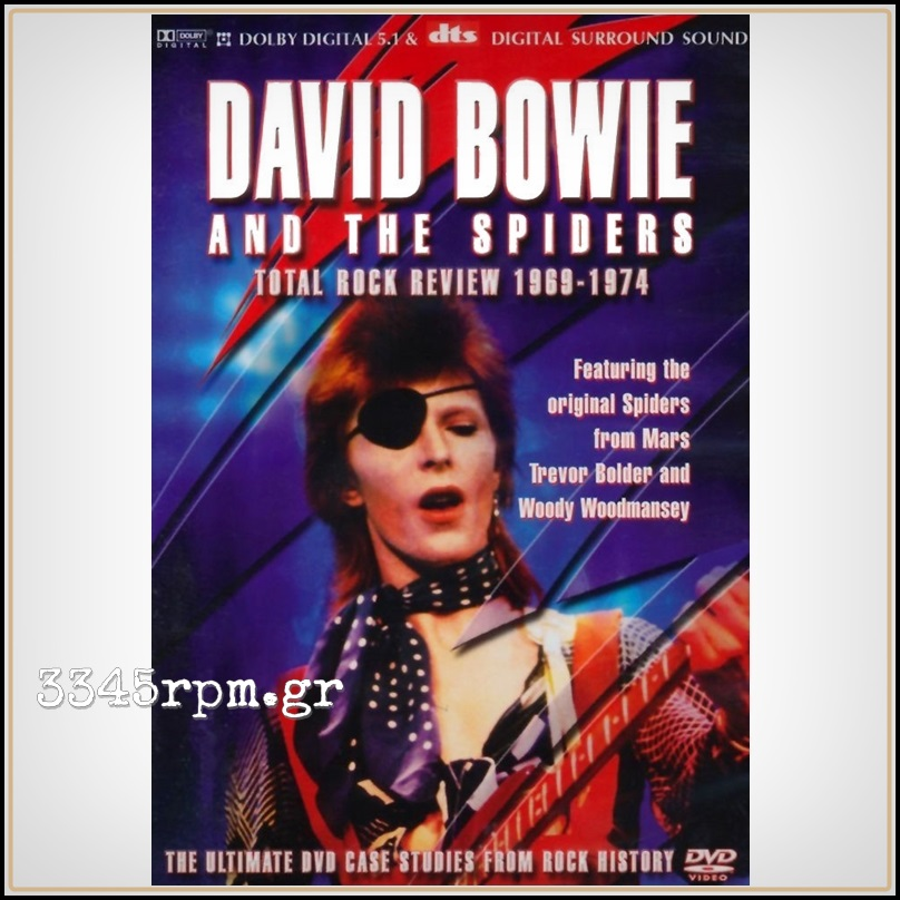 Bowie, David - Total Rock Review 1969-1974 - DVD