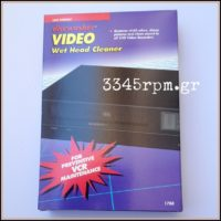 Discwasher VHS Wet Head Cleaner -Video Cleaning Tape