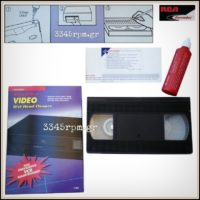 Discwasher VHS Wet Head Cleaner- Video Cleaning Tape