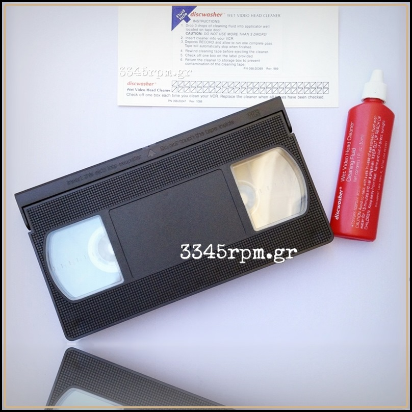 Discwasher VHS Wet Head Cleaner - Video Cleaning Tape