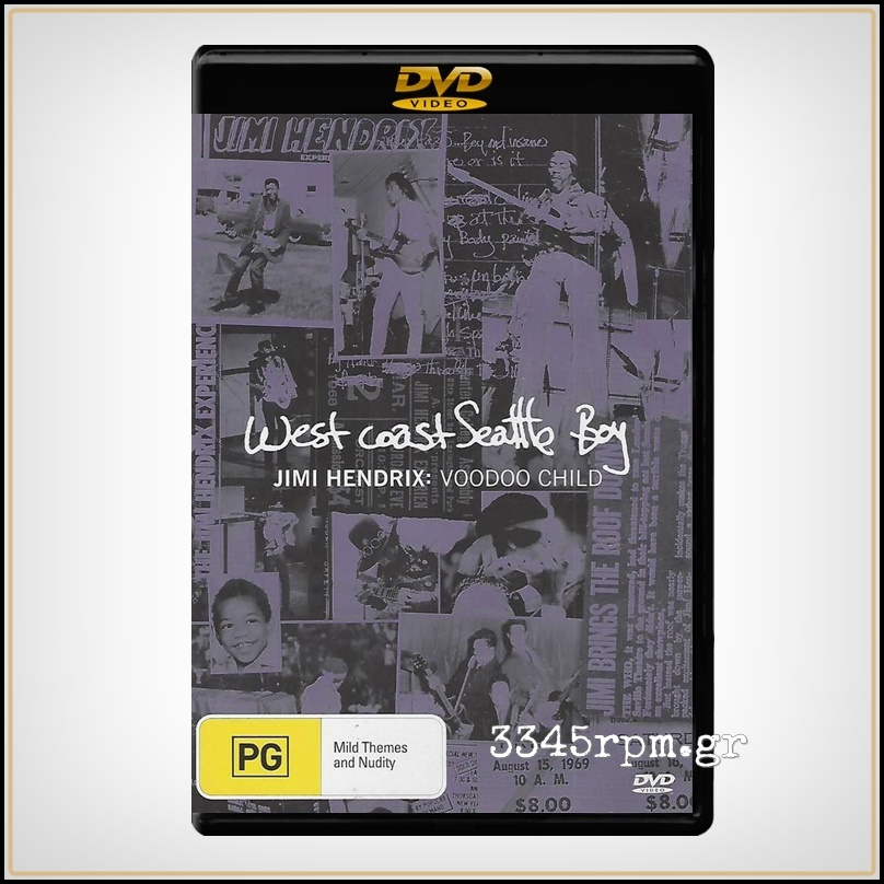 Hendrix, Jimi - West Coast Seattle Boy - DVD