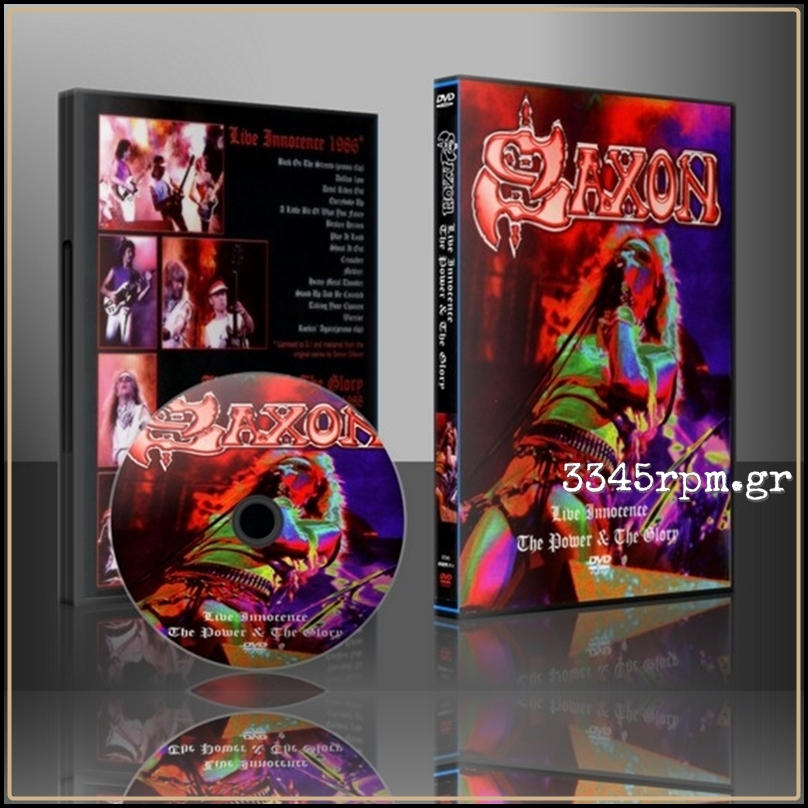 Saxon - Live Innocence The Power And The Glory - DVD