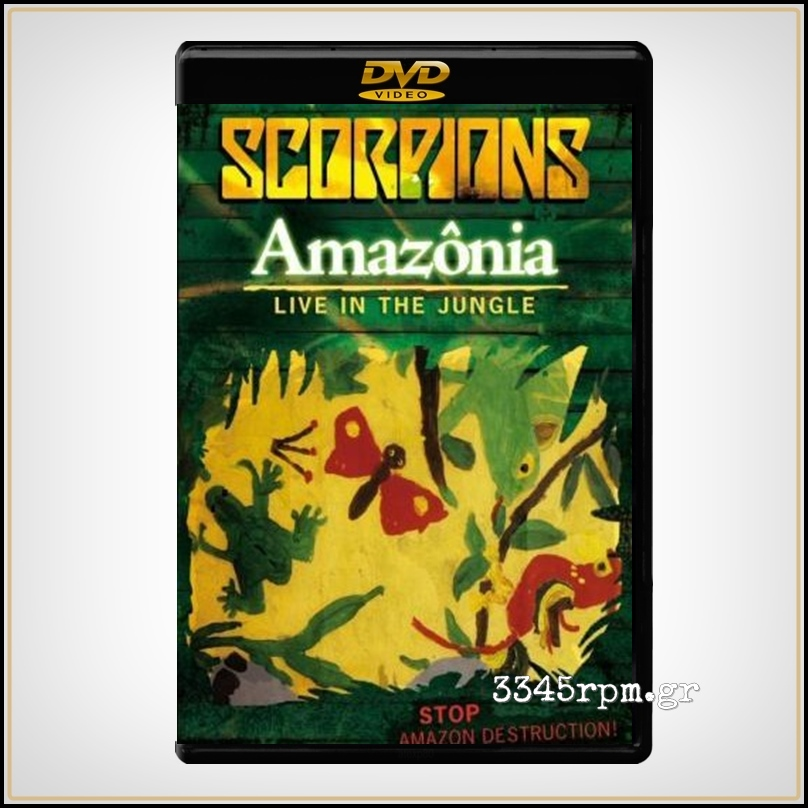 Scorpions ‎- Amazonia-Live In The Jungle - DVD