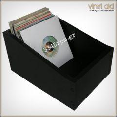 Storage Box for 150 Vinyl Singles 7inch - MDF Box