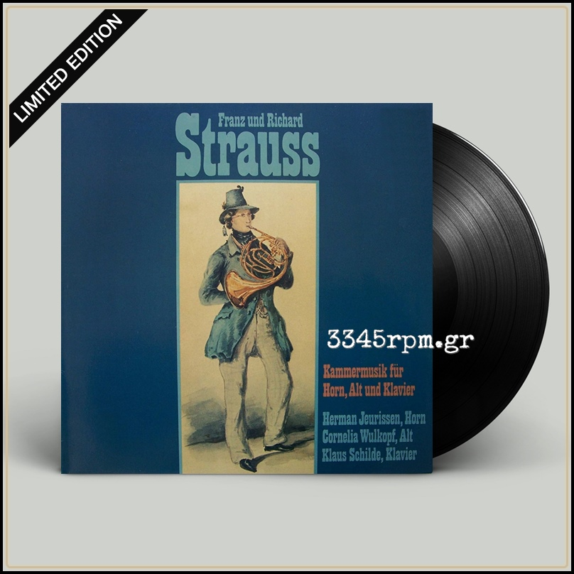 Strauss - Chamber Music For Horn, Viola & Piano - Vinyl LP