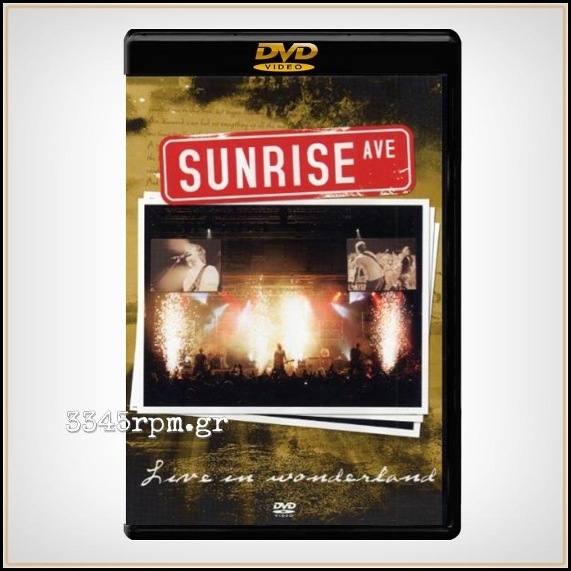 Sunrinse Avenue - Live In Wonderland - DVD