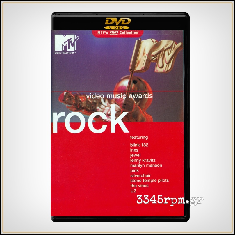 Video Music Awards - Rock - DVD