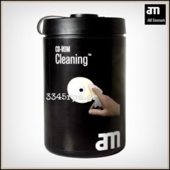 Wet cleaning wipes for CD, DVD - 100 sheets