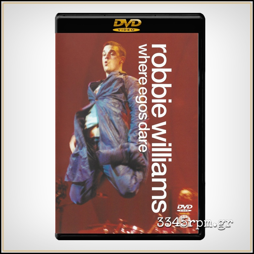 Williams, Robbie - Where Egos Dare - DVD