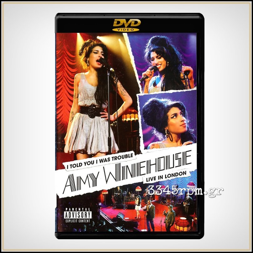 Winehouse, Amy - I Told You I Was Trouble - DVD