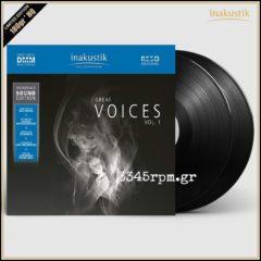 Great Voices Vol.1 - Vinyl 2LP 180gr HQ DMM RESO
