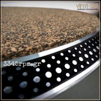 Mix Cork High end Record Mat 3mm -Vinyl Aid