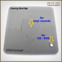 Professional_Vinyl Record Cleaning Work Mat