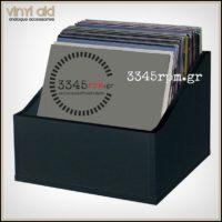 Storage Box for 80 Vinyl Records LP - 12inch -MDF Box