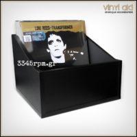 Storage Box for 80 Vinyl Records LP - 12inch-MDF Box