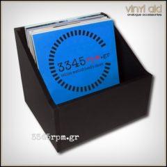 Storage Box for 80 Vinyl Records LP - 12inch - MDF Box
